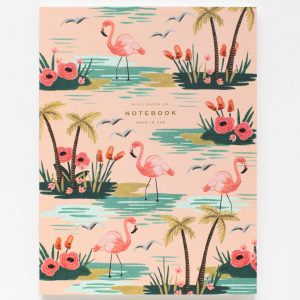 "Rifle Paper Co. ""Birds of a Feather Flamingo"" Notebook"