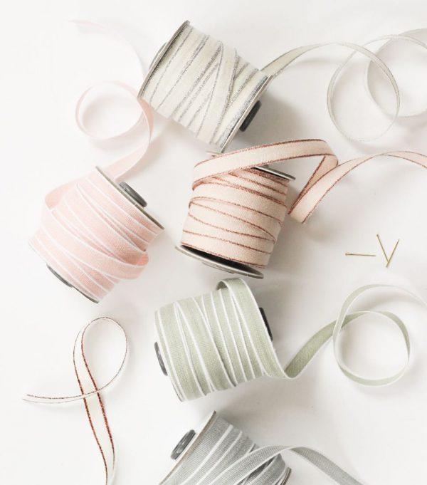 Studio Carta Drittofilo Cotton Ribbon, 20 meters