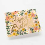 """Rifle Paper Co. """"Rosé Birthday"""" Greeting Card"""