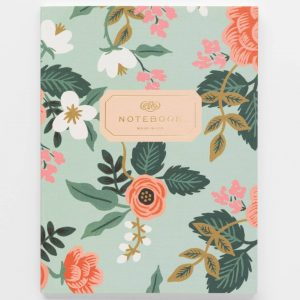"Rifle Paper Co. ""Birch Mint"" Notebook"