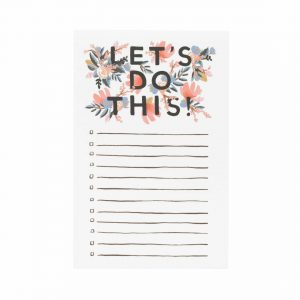 "Rifle Paper Co. ""Let's Do This"" To-Do List Notepad"