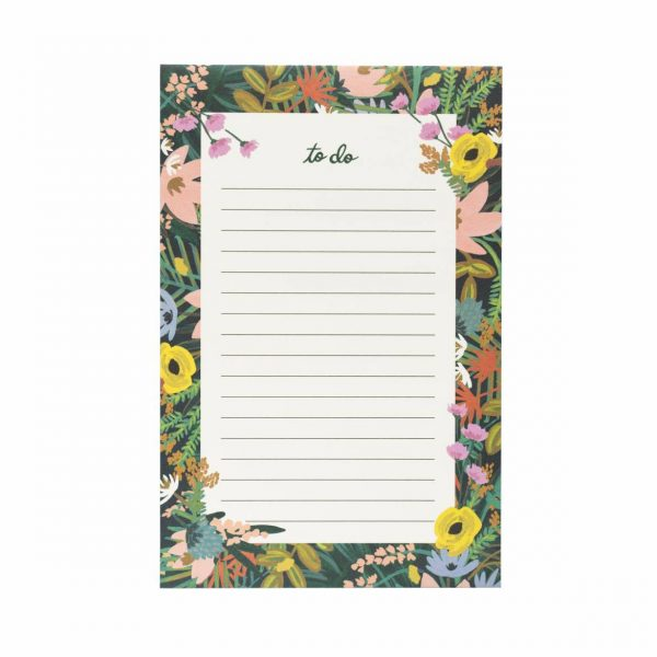 "Rifle Paper Co. ""Havana"" To-Do List Notepad"