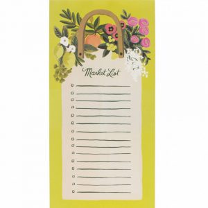 "Rifle Paper Co. ""Farmer's"" Shopping List Notepad"