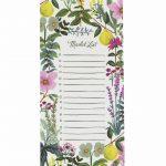 "Rifle Paper Co. ""Herb Garden"" Shopping List Notepad"