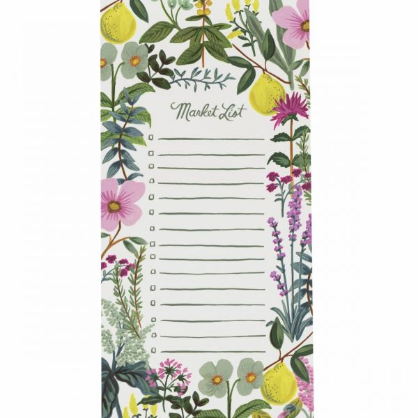 "Rifle Paper Co. ""Herb Garden"" Shopping List Notepad"