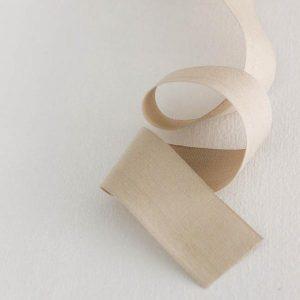 Studio Carta Cotton Ribbon 38 mm, 10 meters paddle - Tan