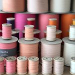 Studio Carta Wood Spool Cotton Ribbon, 5 meters