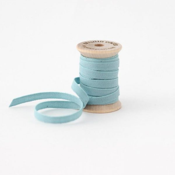 Studio Carta Wood Spool Cotton Ribbon, 5 meters - Pool