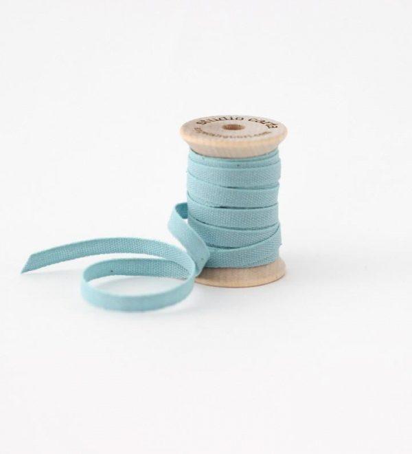 Studio Carta Wood Spool Cotton Ribbon, 5 meters - Pool