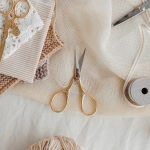 Studio Carta Gold Lion Tail Scissors