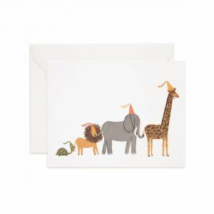 """Rifle Paper Co. """"Party Parade"""" Greeting Card"""