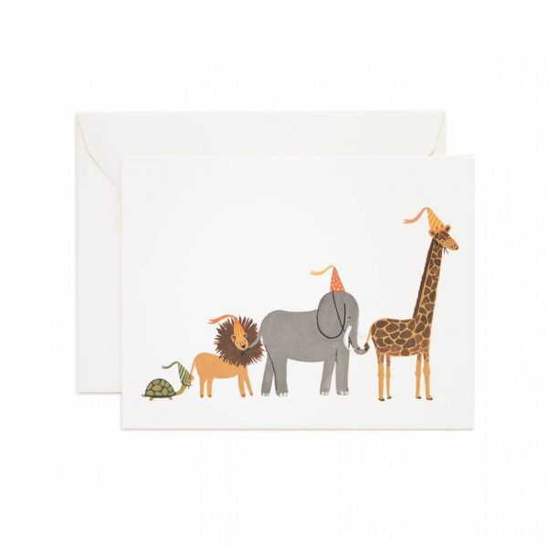 "Rifle Paper Co. ""Party Parade"" Greeting Card"