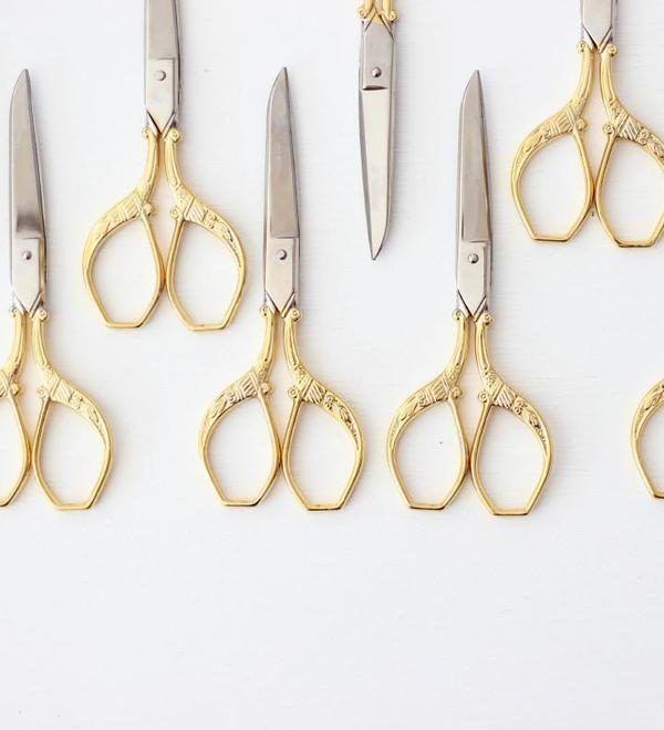 Studio Carta Gold Florentine Scissors