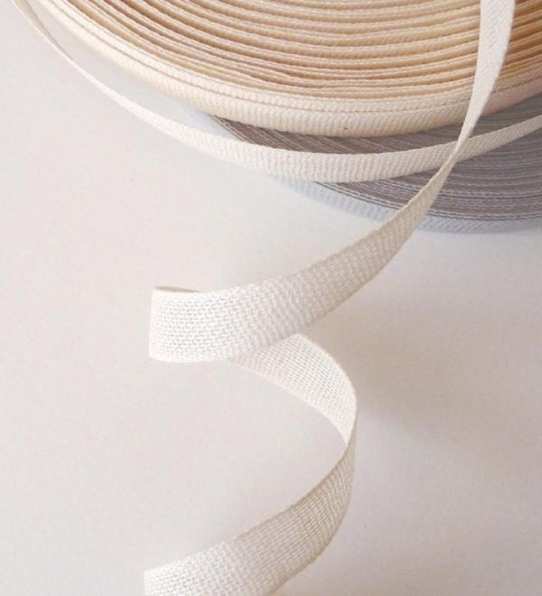 Studio Carta 15 mm Loose Weave Cotton Ribbon