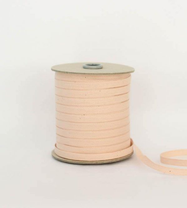 Studio Carta 6 mm Cotton Ribbon, 100 meters - Blush
