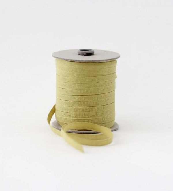 Studio Carta 6 mm Cotton Ribbon, 100 meters - Studio Carta 6 mm Cotton Ribbon, 100 meters - Chartreuse
