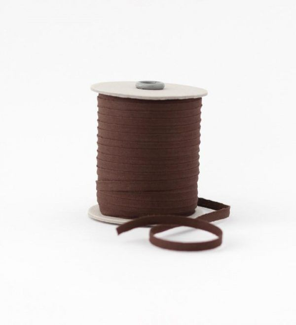 Studio Carta 6 mm Cotton Ribbon, 100 meters - Chocolate