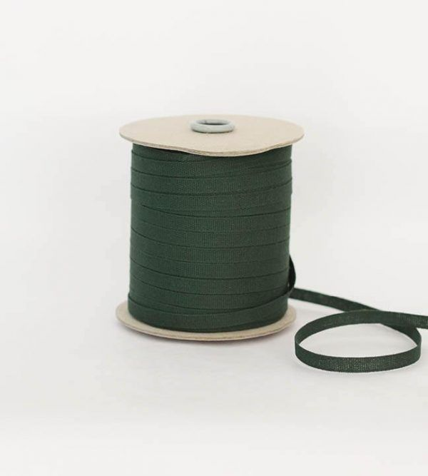 Studio Carta 6 mm Cotton Ribbon, 100 meters - Cypress