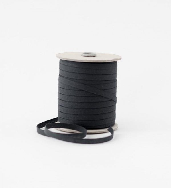 Studio Carta 6 mm Cotton Ribbon, 100 meters - Iron