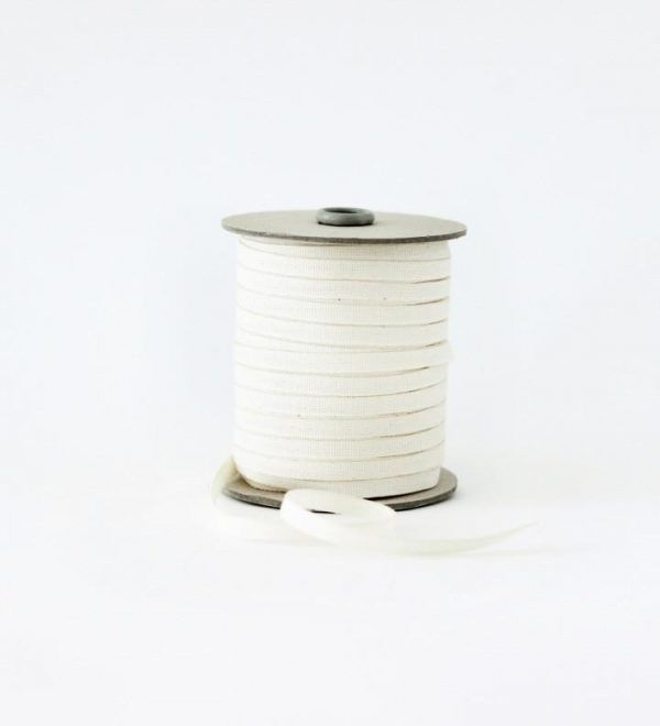 Studio Carta 6 mm Cotton Ribbon, 100 meters - Natural