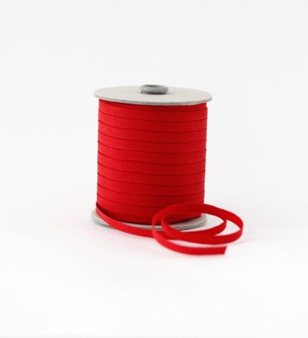 Studio Carta 6 mm Cotton Ribbon, 100 meters - Red