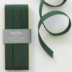 Studio Carta Cotton Ribbon 17 mm – Cypress