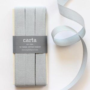 Studio Carta Cotton Ribbon 17 mm – Ice