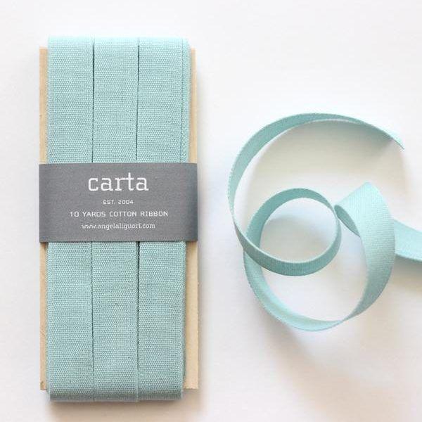 Studio Carta Cotton Ribbon 17 mm – Pool