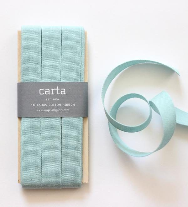 Studio Carta Cotton Ribbon 17 mm – Pool
