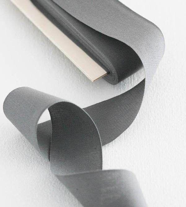 Studio Carta Cotton Ribbon 38 mm - Gravel