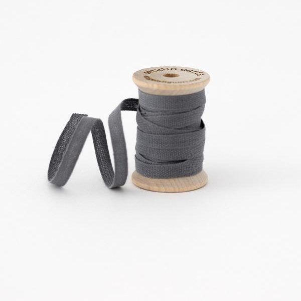 Studio Carta Wood Spool Cotton Ribbon - Gravel