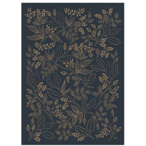 "Rifle Paper Co. ""Queen Anne"" Wrapping Paper Sheet"