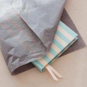 Slate Grey Tissue Paper