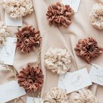 Silk Hair Scrunchie - Caramel
