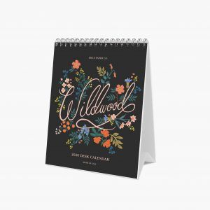 "Rifle Paper Co. 2020 ""Wildwood"" Desk Calendar"