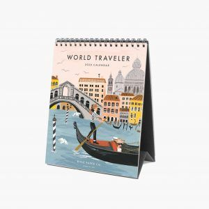 "Rifle Paper Co. 2020 ""World Traveler"" Desk Calendar"