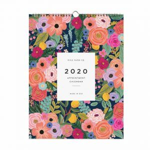 "Rifle Paper Co. 2020 ""Garden Blooms"" Appointment Calendar"