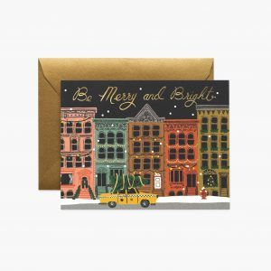"Rifle Paper Co. ""City Holiday"" Christmas Card"