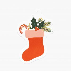 "Rifle Paper Co. ""Stocking"" Gift Tags"