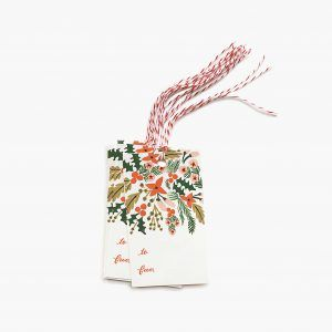 "Rifle Paper Co. ""Winter Berries"" Gift Tags"