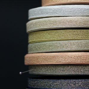 Studio Carta 15 mm Metallic Loose Weave Cotton Ribbon