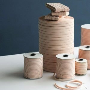 Studio Carta Metallic Line Cotton Ribbon, 100 meters