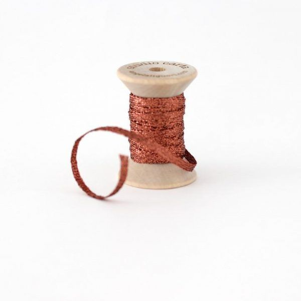 Studio Carta Metallic Braided Ribbon - Copper