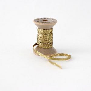 Studio Carta Metallic Braided Ribbon - Gold