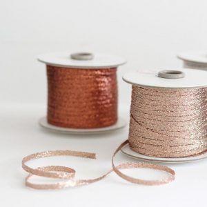 Studio Carta Metallic Braided Ribbon - 100 meters