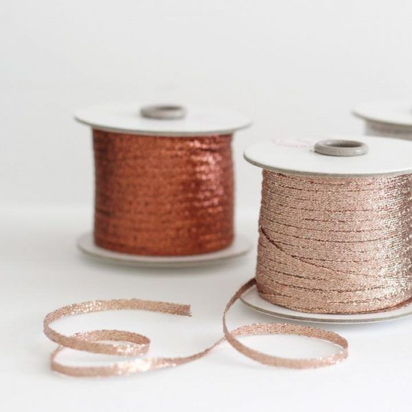 Studio Carta Metallic Braided Ribbon - 100 meters