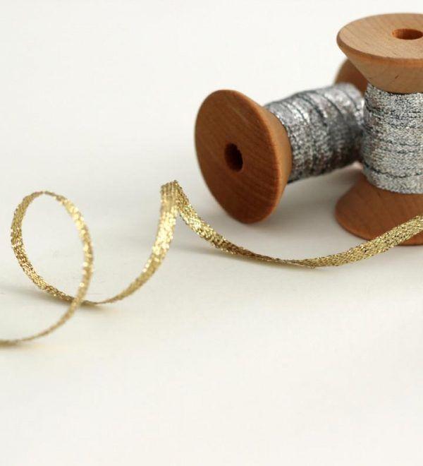 Studio Carta Metallic Braided Ribbon