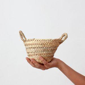 Moroccan Handmade Tiny Basket