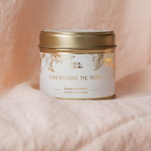 Big Hand Poured Scented Soy Candle - Gold