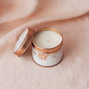 Big Hand Poured Scented Soy Candle - Copper